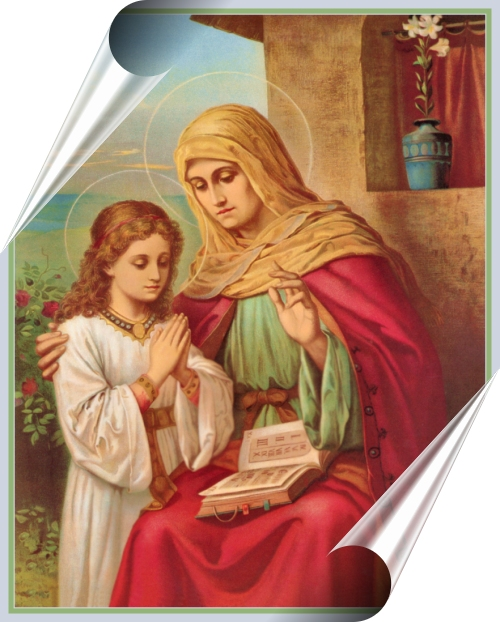St. Anne, our holy grammy
