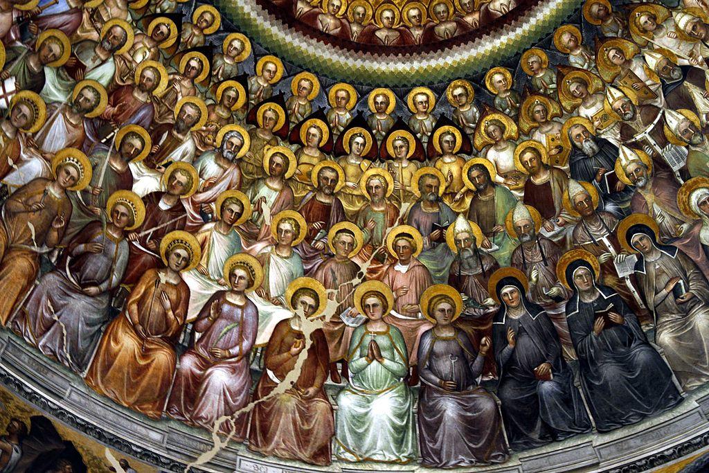 Photo: Communion_of_saints_-_Baptistry_-_Padua_© José Luiz Bernardes Ribeiro from Wikimedia